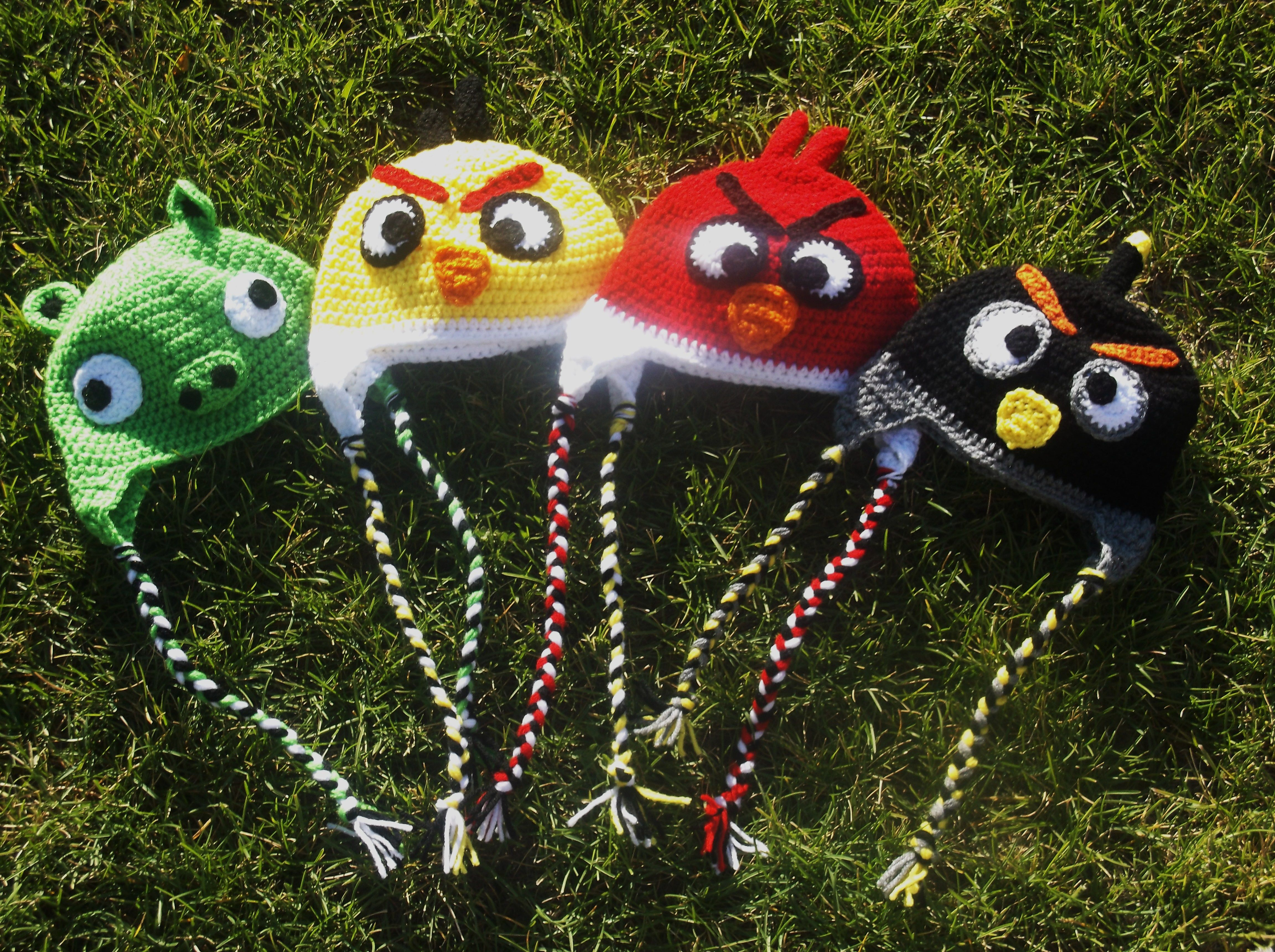 Angry Birds Knit N Stitch By Heidi Pinterest Angry Birds And