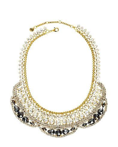 Drama Rhinestone Collar Necklace