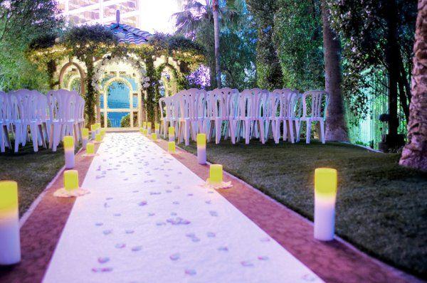 Photo 2 Of Flamingo Las Vegas Wedding Garden Chapel