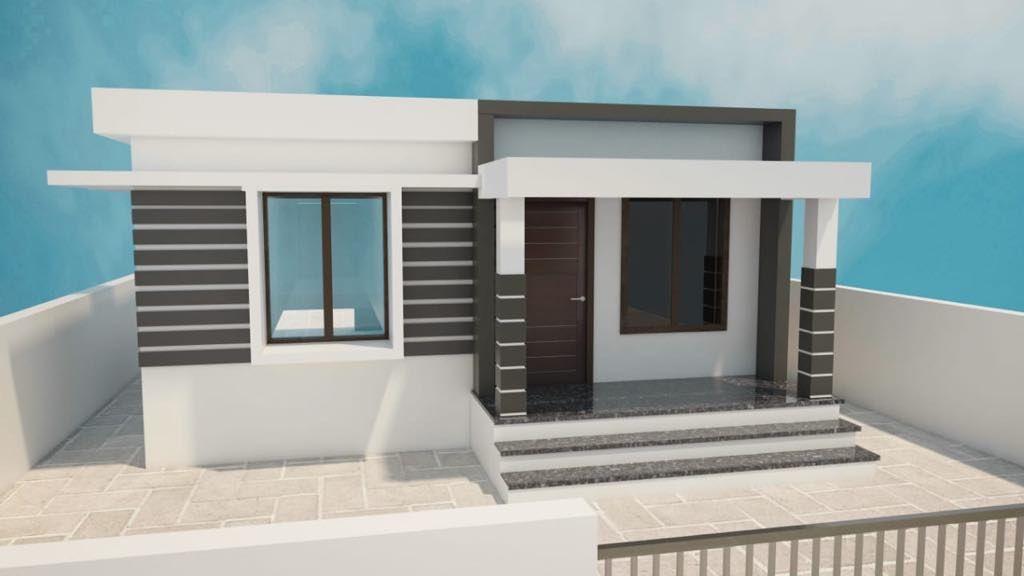 Best 2bhk Modern Home Plan Below 8 Lakhs House Plans House