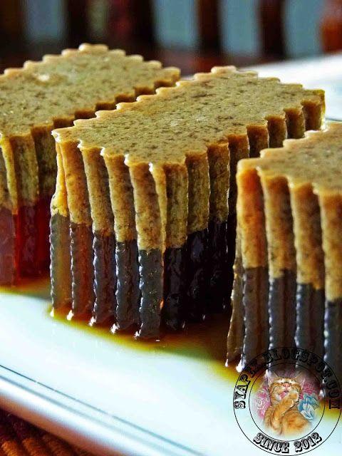 Agar Agar Santan Gula Merah Bread Cake N Love Agar Agar
