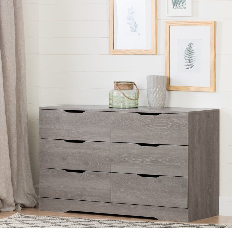 Best Holland 6 Drawer Double Dresser Oak Dresser Furniture 400 x 300