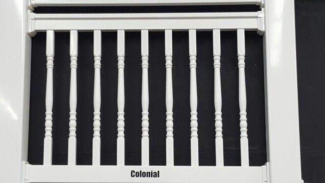 Best Colonial Spindle Railing Wood Railing 400 x 300