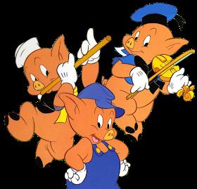 Fantasia De Una Princesa Los Tres Cerditos Y Lobo Feroz Cerditos Los Tres Cerditos Cuento Tres Cerditos