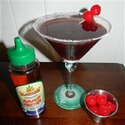 Kirstin's Favorite Black Cherry Martini Allrecipes.com