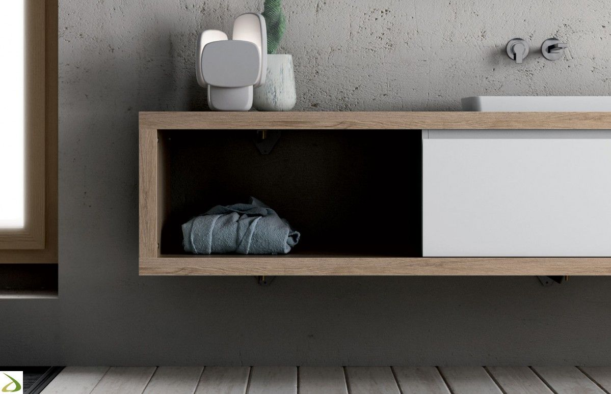 Risultati immagini per mobile bagno per doppio lavabo | arredamento ...