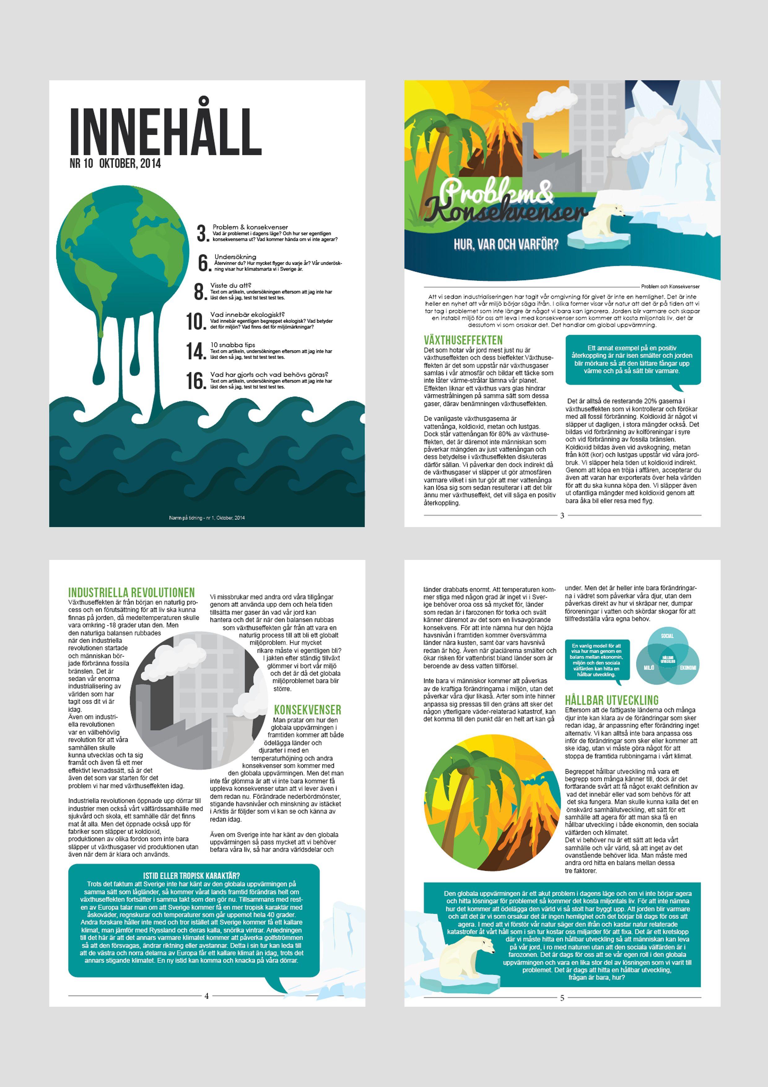 9ace3d6190b1 Illustration samt layout för tidningsuppslag. | Grafiskt - Nathalie ...