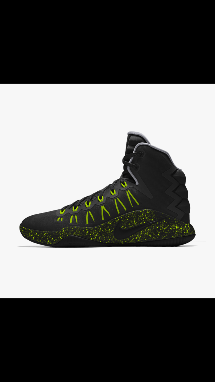 buy popular 3219b 81953 Nike Hyperdunk 2016 ID custom made . ...