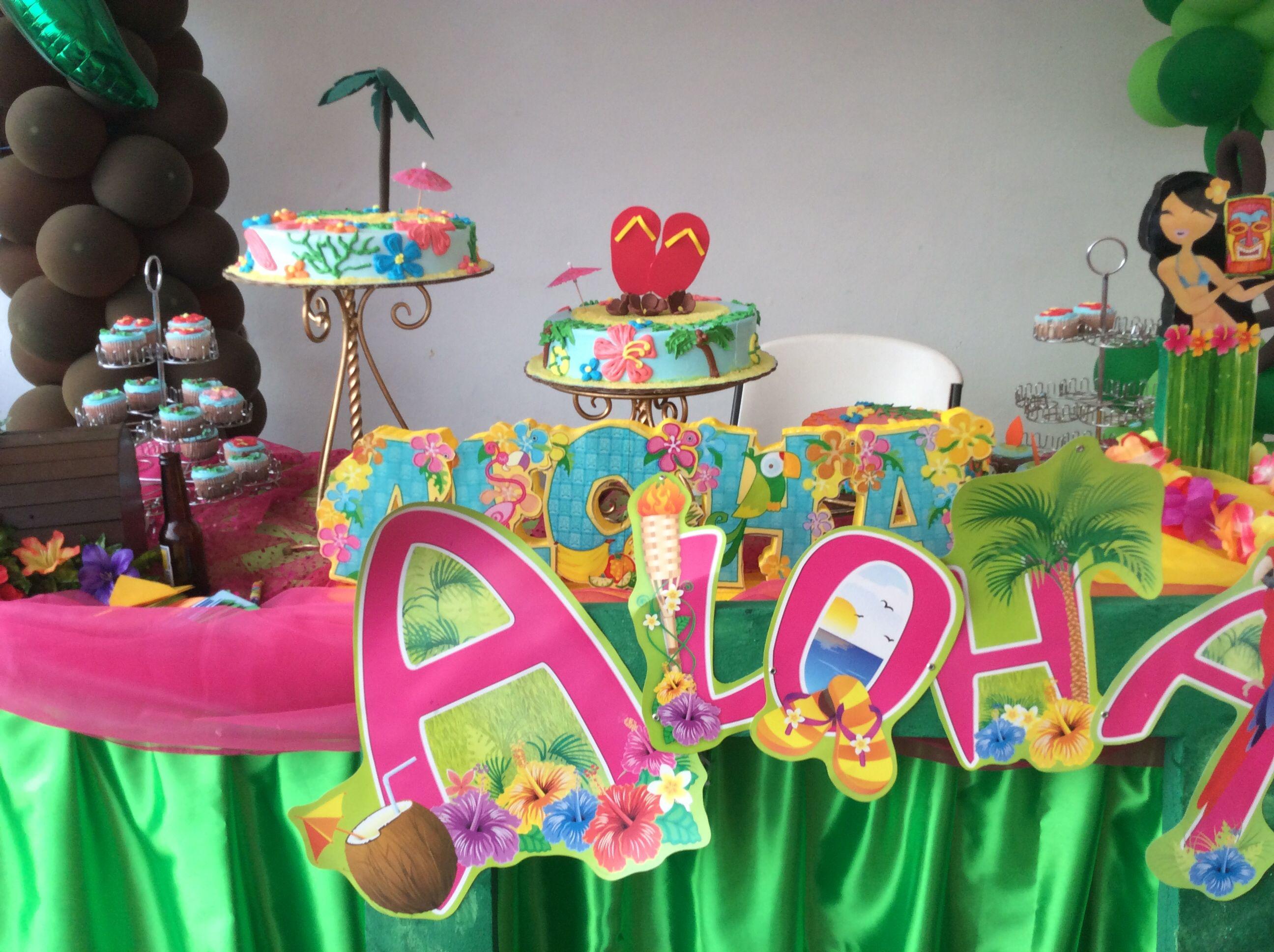 Mesa principal decorada por decoraci n eventos norma - Decoracion party ...