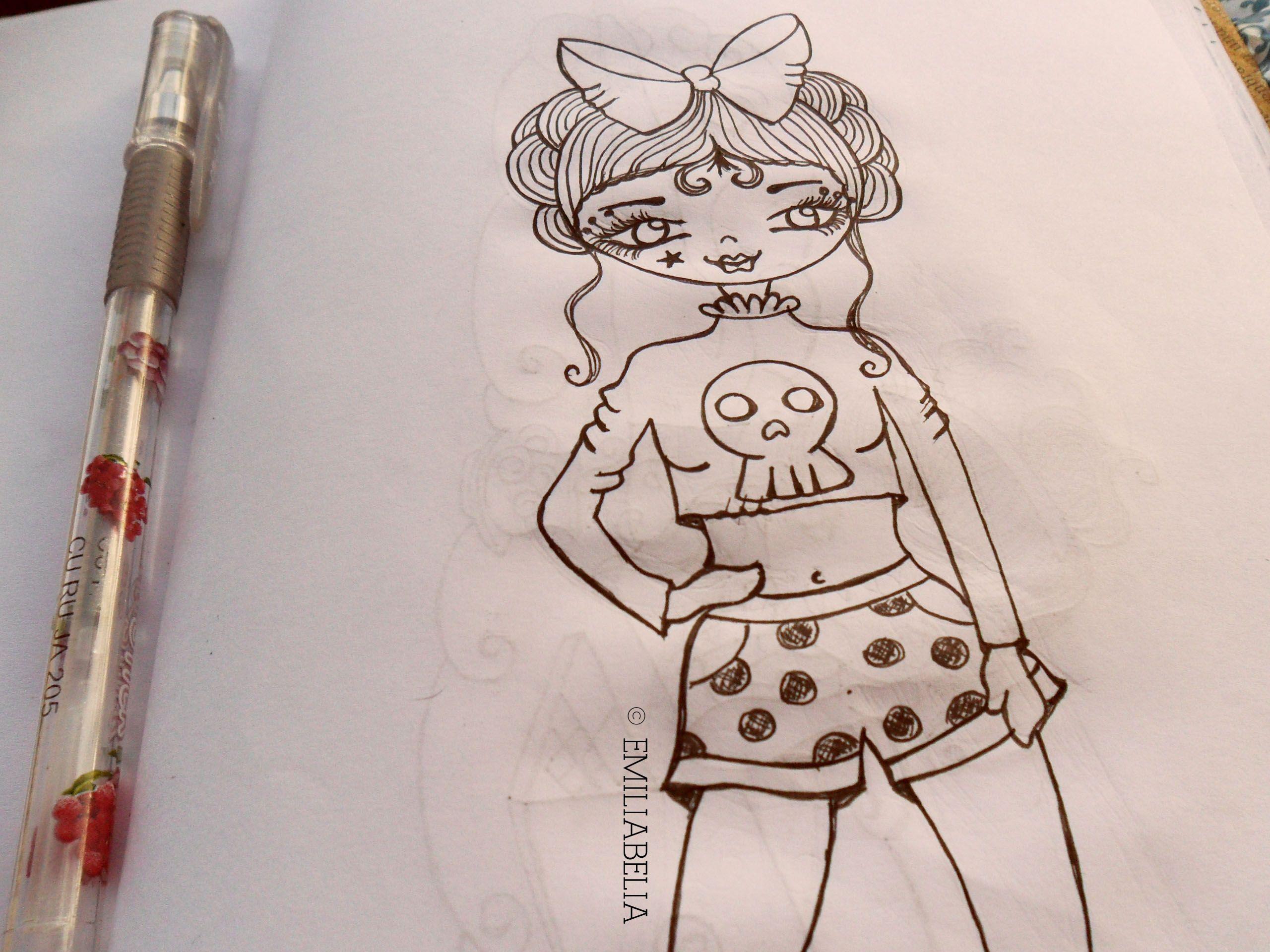 Garota - poá