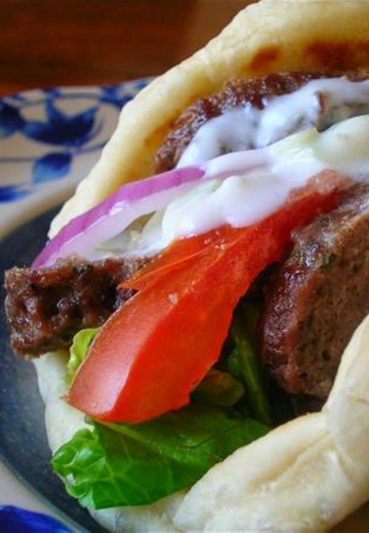 Ground Beef Gyros Kitchen Vista S Ground Beef Gyros Recipe Beef Gyro Recipes