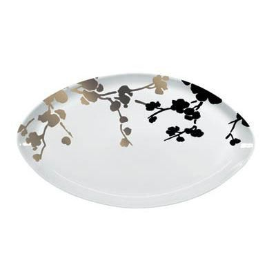 Raynaud Ombrages Flat Oval Dish