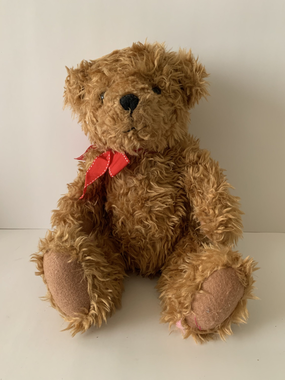 Hallmark Bear Vintage Bear Stuffed Animal Plush Bear Etsy Bear Stuffed Animal Vintage Teddy Bears Bear Plush [ 3000 x 2250 Pixel ]