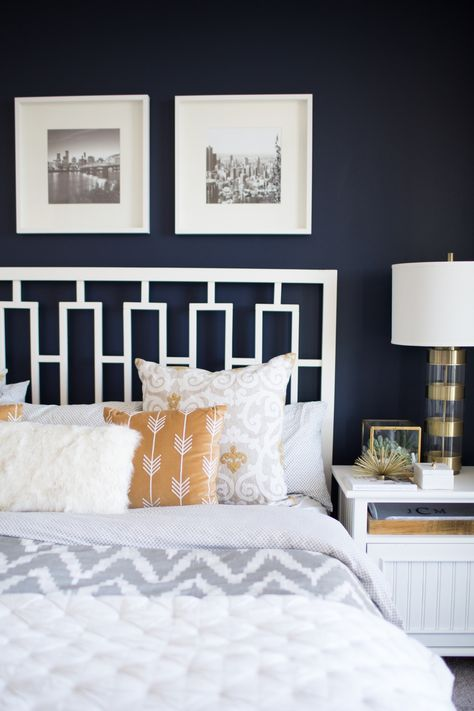 Dark Blue And Brown Bedroom Bedding For Dark Blue Walls Home Decorating Design Forum Blue Bedroom Walls Blue Master Bedroom Dark Bedroom Furniture