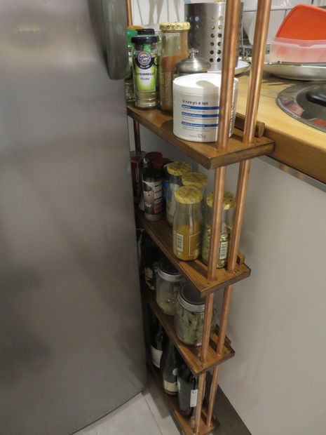 Narrow Rolling Kitchen Cart Perfect For In Between Gaps Carts And Kitchens
