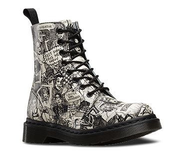 PASCAL BLACK+WHITE 13660004   Want!! in 2019   Doc martens