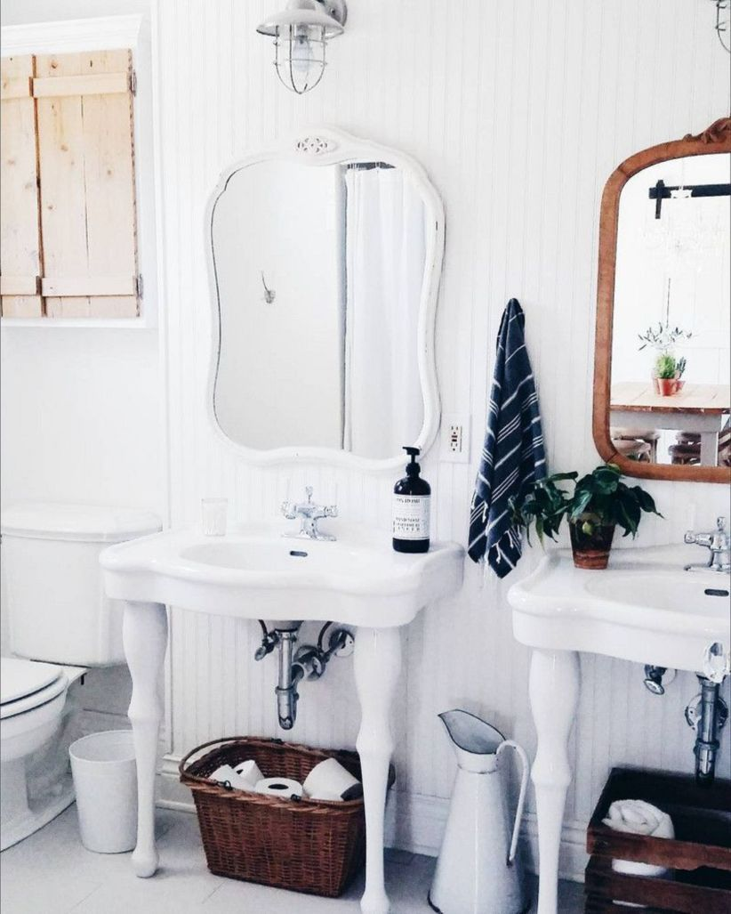 42 Shabby Chic Bathrooms Ideas For Your Apartment