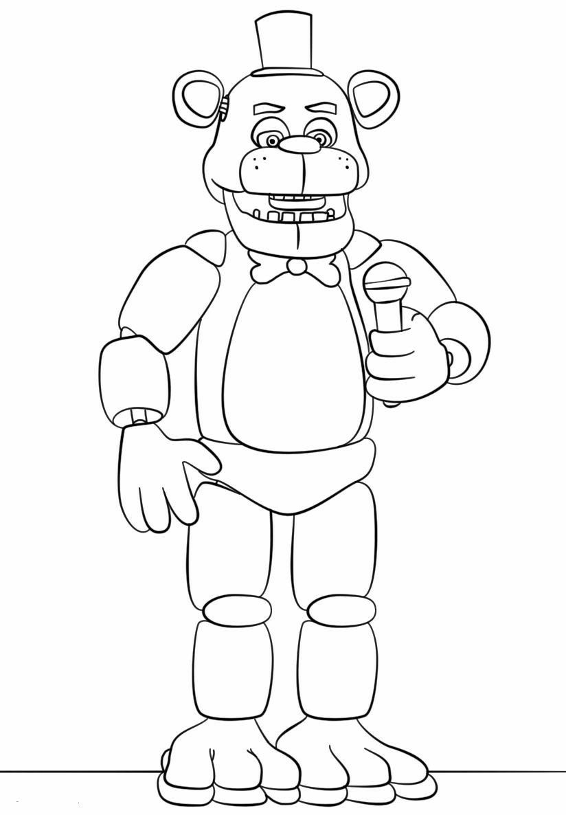 Five Nights At Freddys Image By Siera Watson Fnaf Coloring Pages