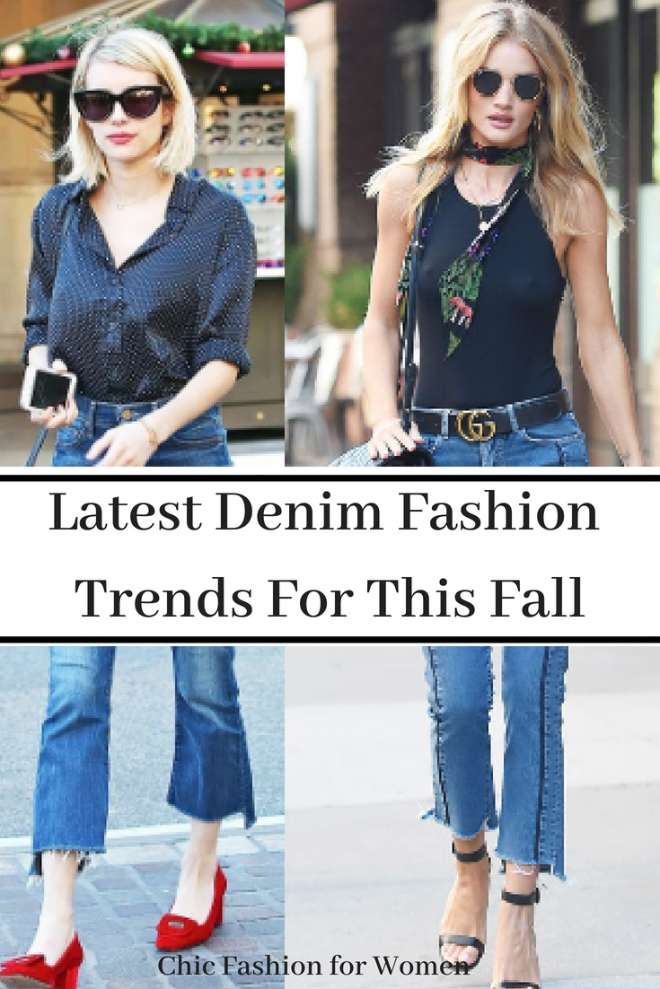76ced4a9f3 Fall Fashion This Year and the Latest Denim Fashion Trends. Wondering what  the celebrities are rocking this fall  Only the latest denim fashion trends  for ...