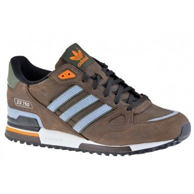 new arrivals 7871d fdebc  Adidas ZX 750  brown    silver
