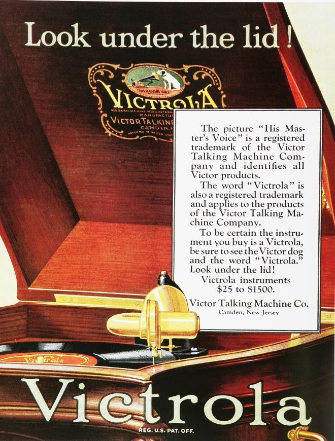 Victrola | The Talking Machine | His masters voice, Edison