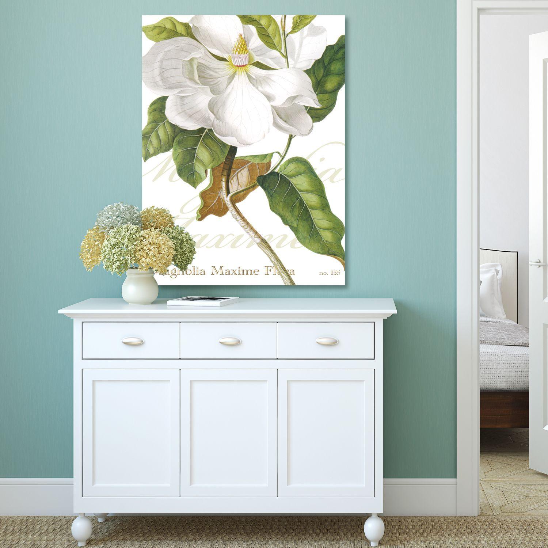 Portfolio Canvas Decor IHD Studio 'Magnolia' Stretched and Gallery-wrapped Canvas Wall Art