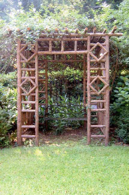 Rustic Arbors & Pergolas | Wedding Chuppahs | Branch Trellises - For Sale