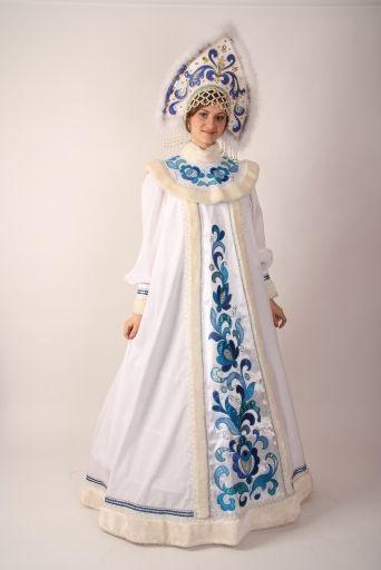 Новогодний костюм снегурочки для взрослых в картинках фото 170-883
