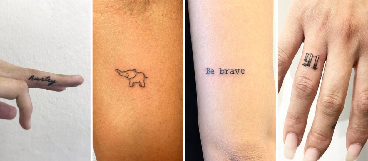 15 Tiny Tattoos Perfect for FirstTimers Tiny tattoos