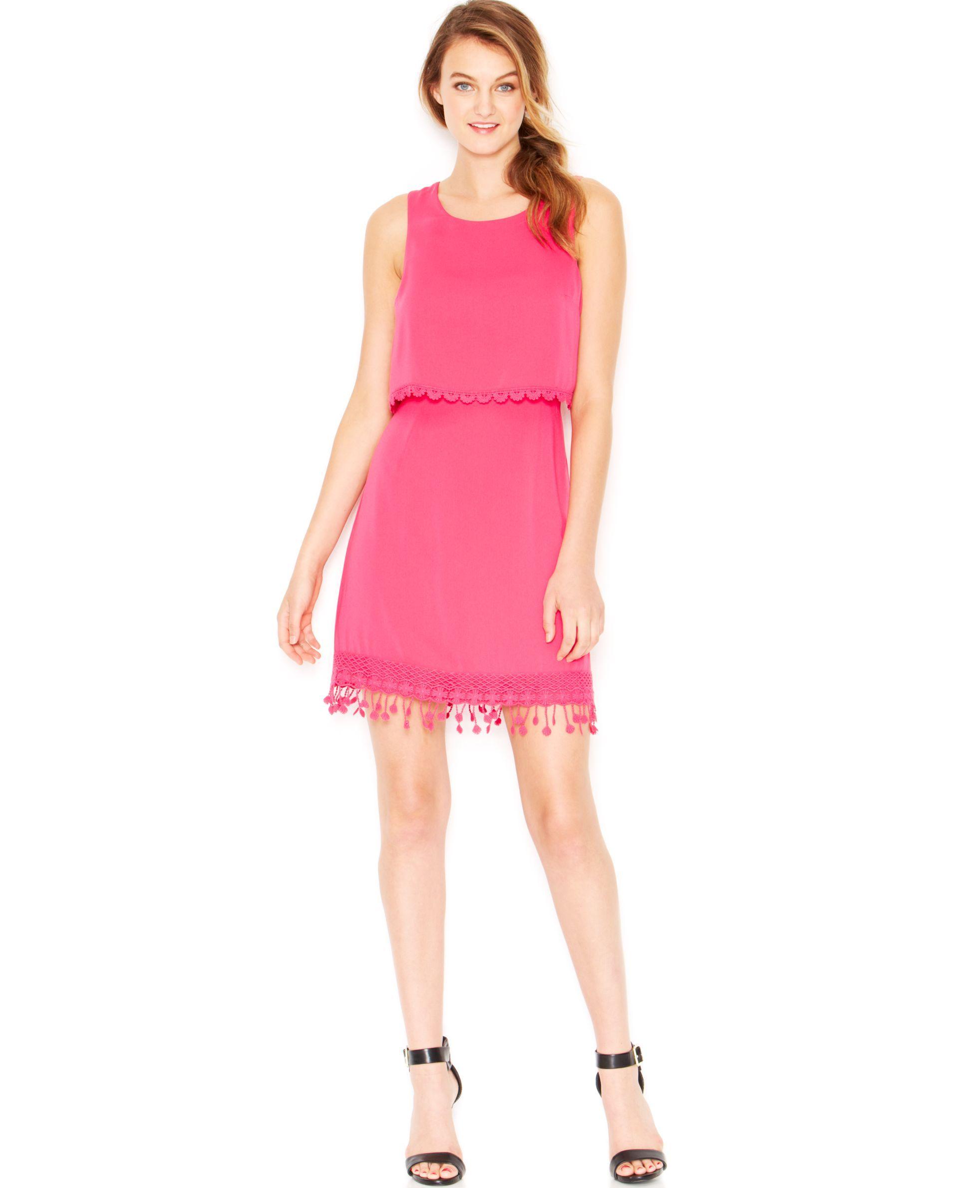 kensie Layered Sleeveless Dress