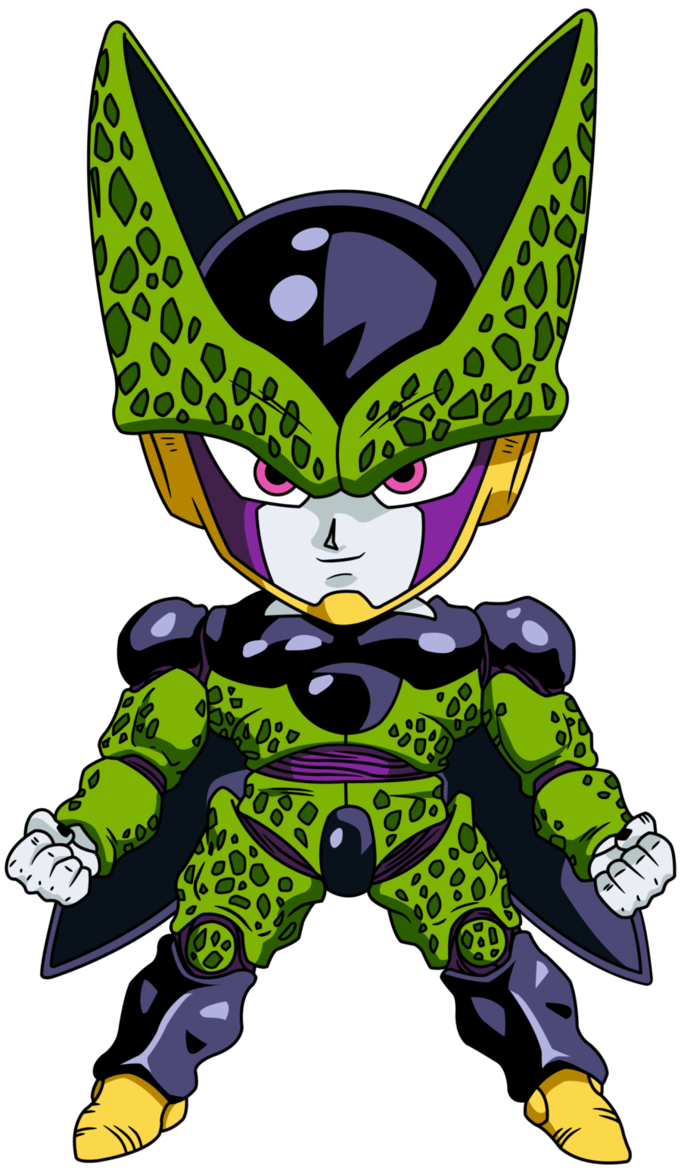 Personajes Chibi de Dragon Ball- Cell Forma Perfecta | Wallpapers ...