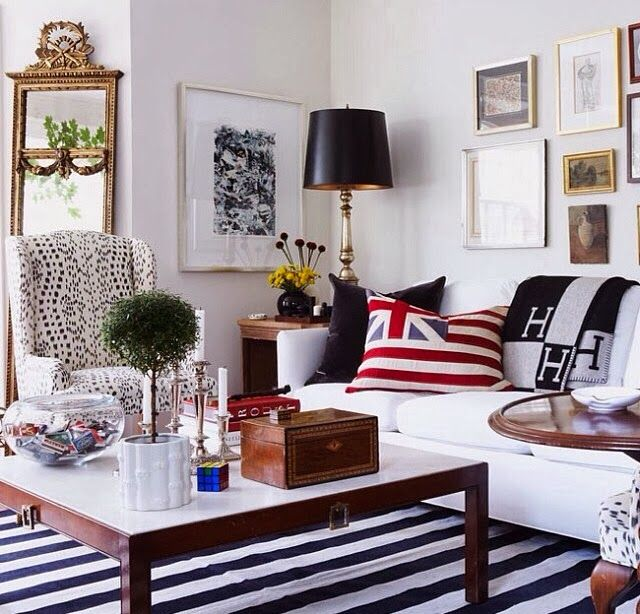 Copy Cat Chic - the whole room, but mainly the wingback chair