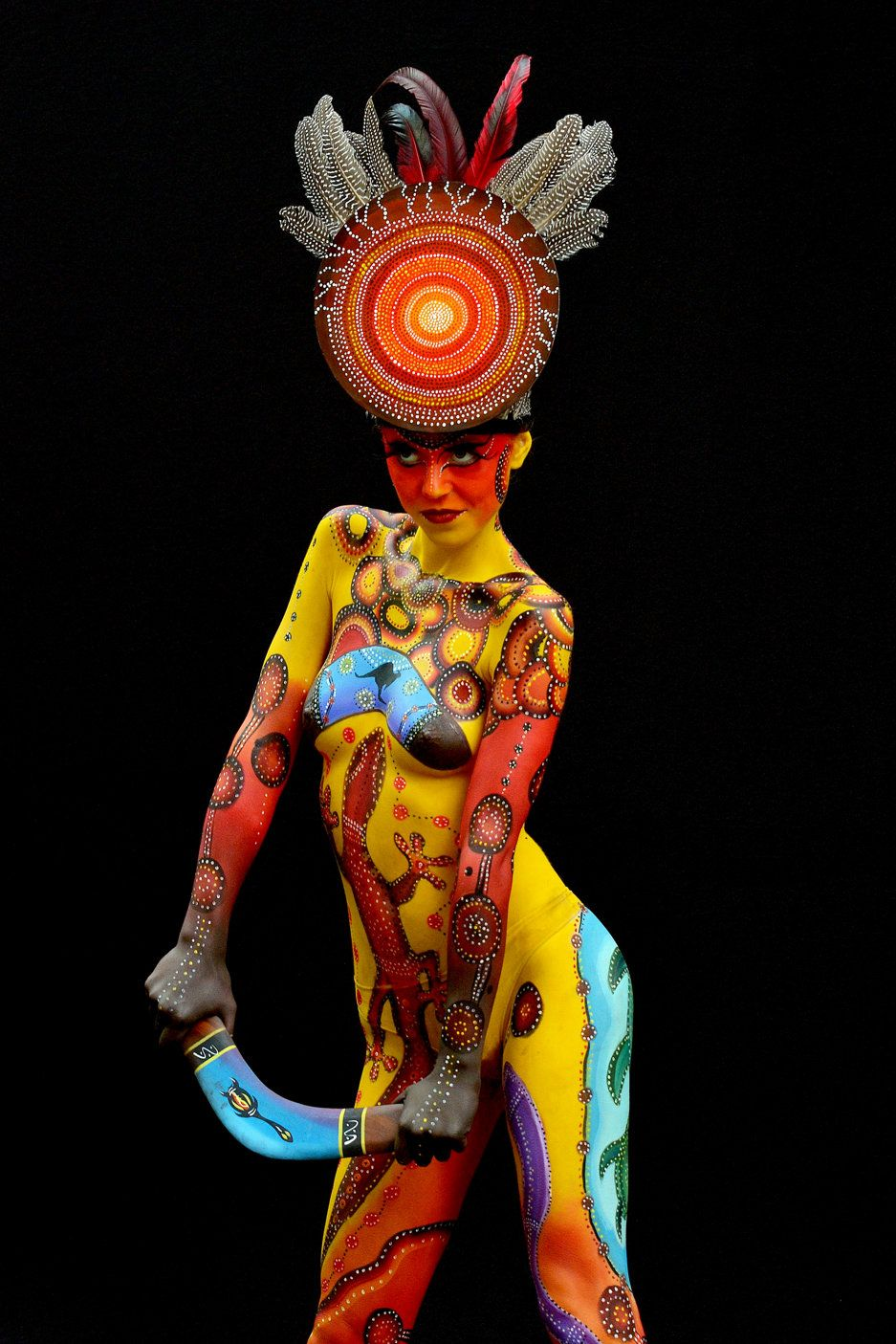 16th World Bodypainting Festival World Bodypainting Festival Body Painting Body Art Painting
