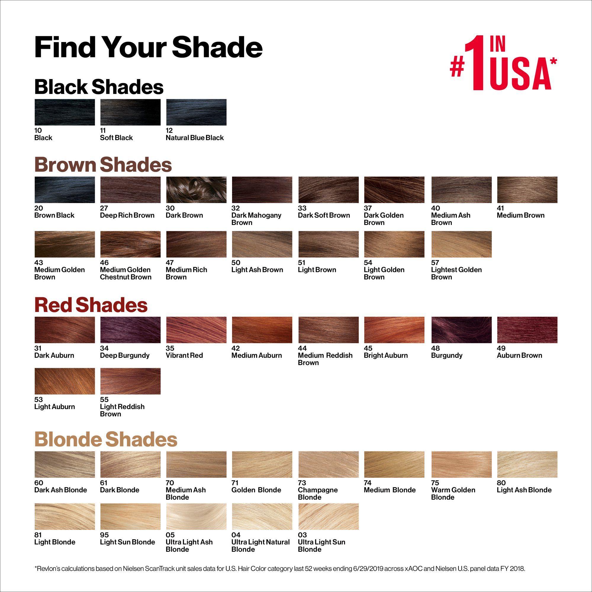 Revlon Colorsilk Beautiful Color Permanent Hair Dye With Keratin 100 Gray Coverage Ammonia Free 45 Bright Auburn Walmart Com In 2020 Permanent Hair Dye Brown Hair Color Chart Revlon Hair Color Chart