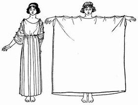 ancient greek chiton - Google Search