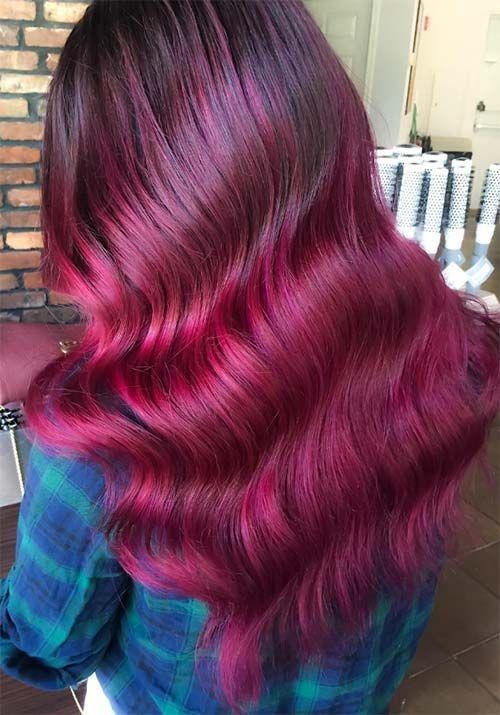 New Reddish Hair Color Shades