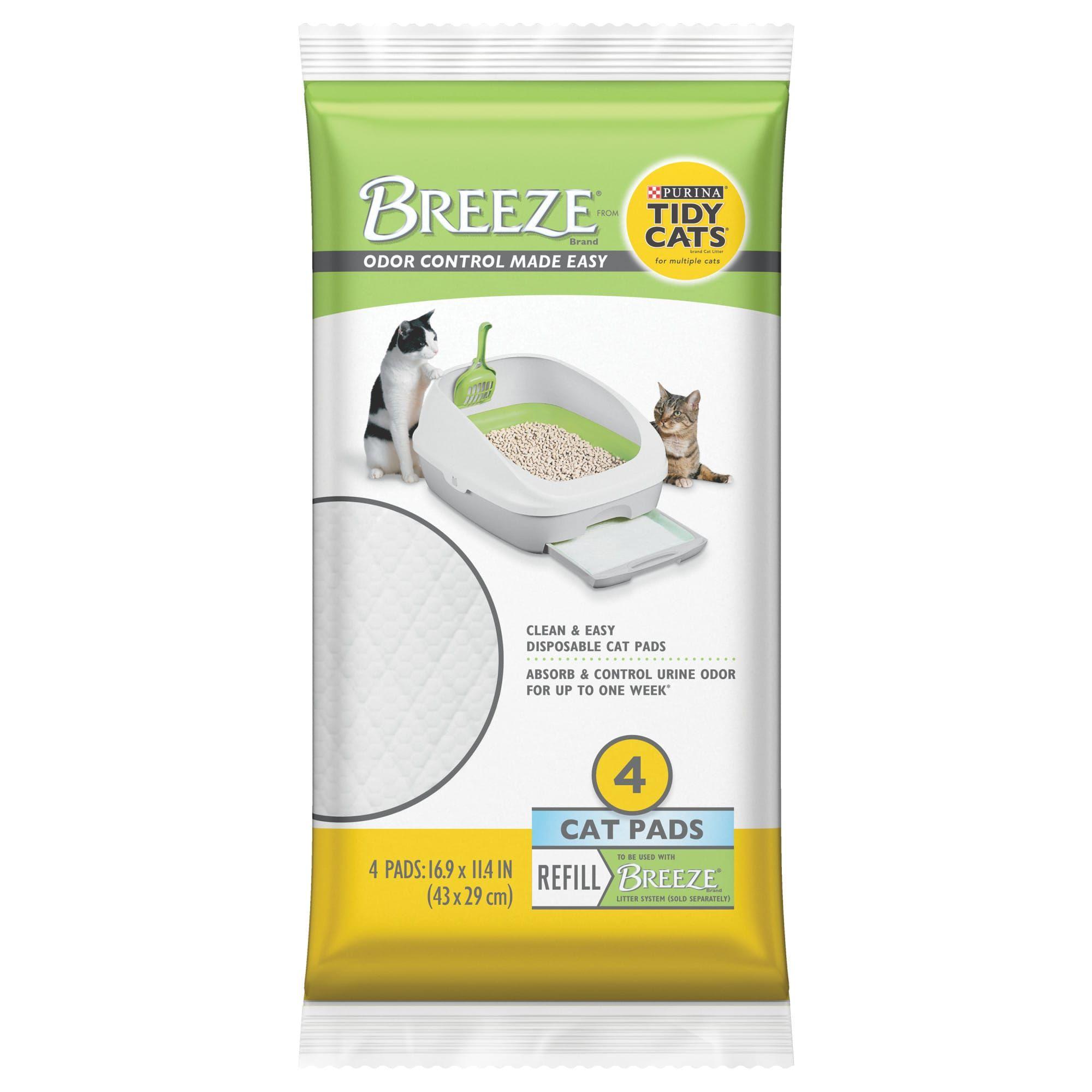 Purina Tidy Cats Breeze Cat Pads Refill Pack, 7.52 oz