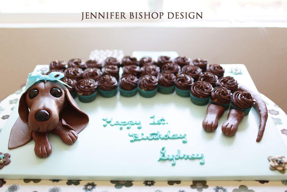 Dachshund Cupcake Cake Dog Cupcakes