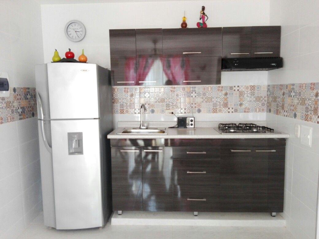 Cocina integral con mosaico. #Micocina :) | cocinas | Pinterest ...