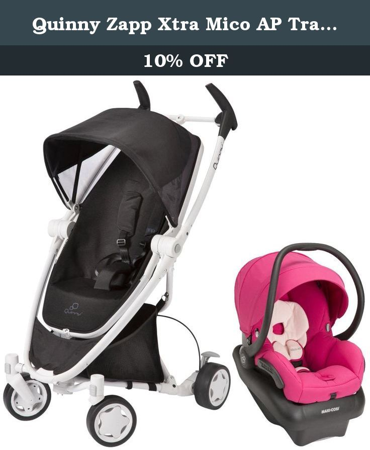 Quinny Zapp Xtra Mico Ap Travel System Black Irony Bright Rose