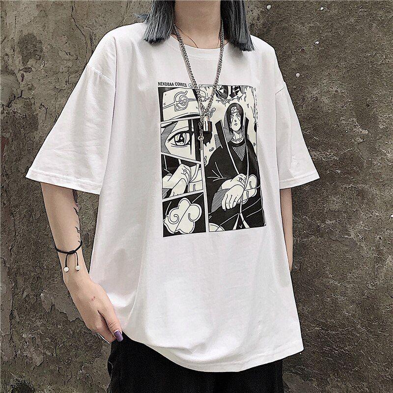 Itachi uchiha t shirt short in 2020 anime inspired