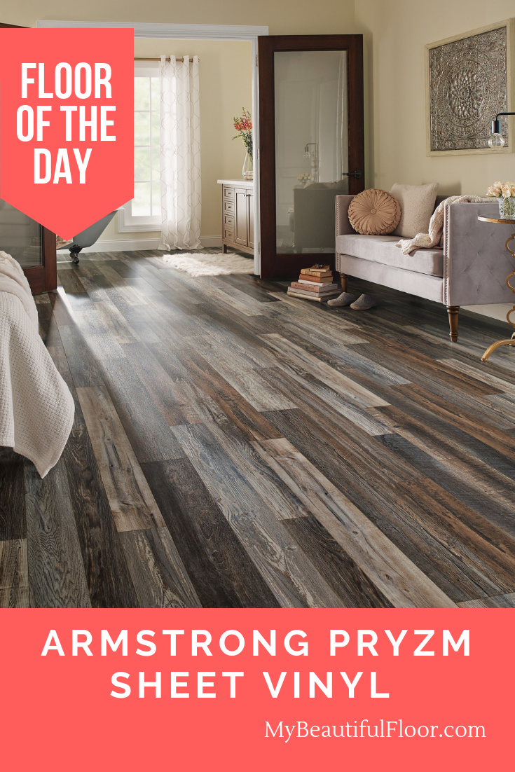 Floor of the Day Armstrong Pryzm Sheet Vinyl