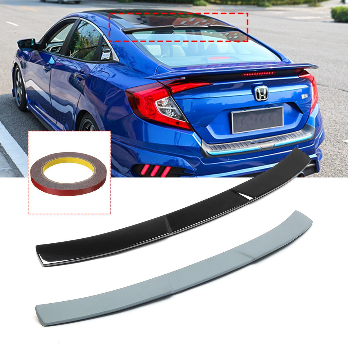 Rear Roof Car Spoiler Wing Fit For 10th Honda Civic X Sedan 2016 2018 In 2021 Honda Civic Honda Civic Accessories Civic Accessories