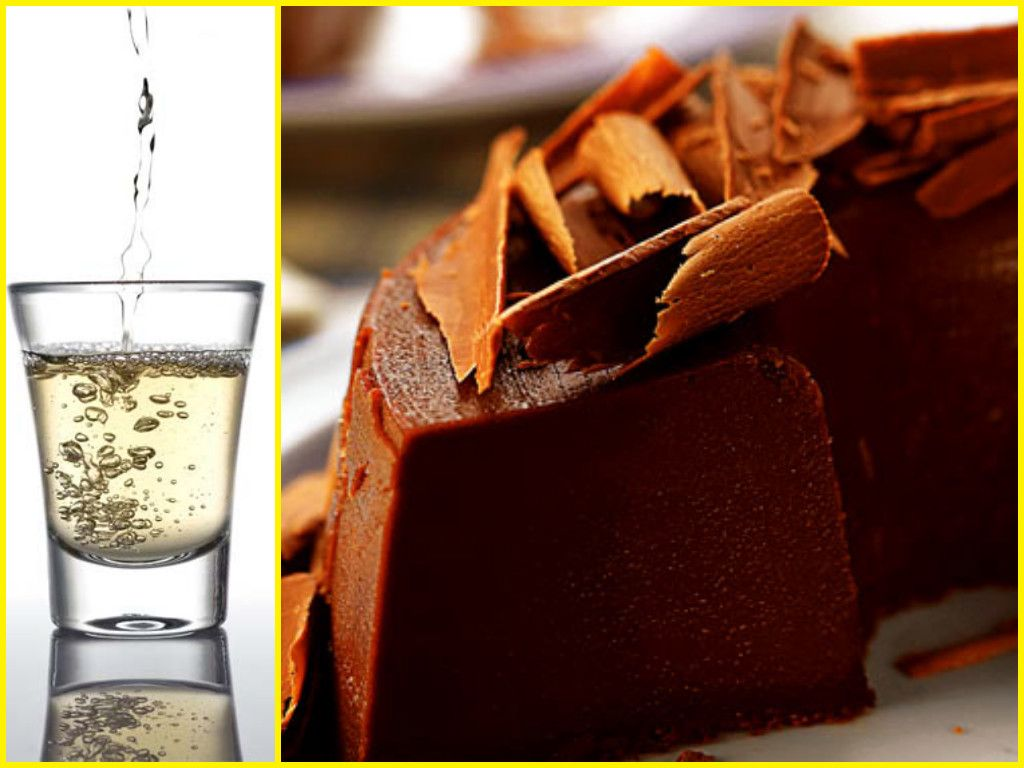 Pudim de Chocolate com Cachaça um doce com um toque brasileiro