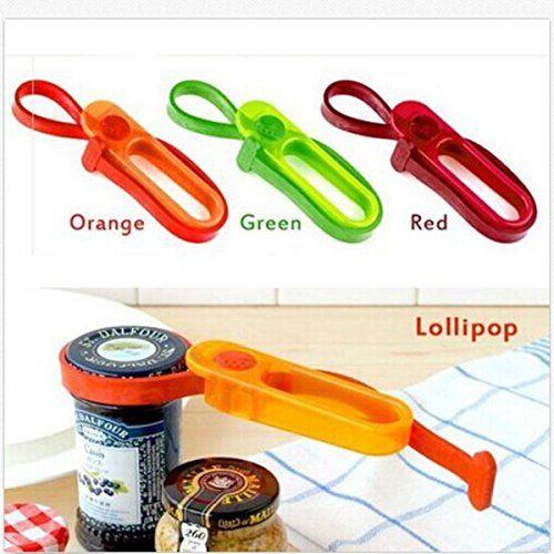 Multifunction Kitchen Gadget Plastic Bottle Can Wine Jars Lid Opener ...