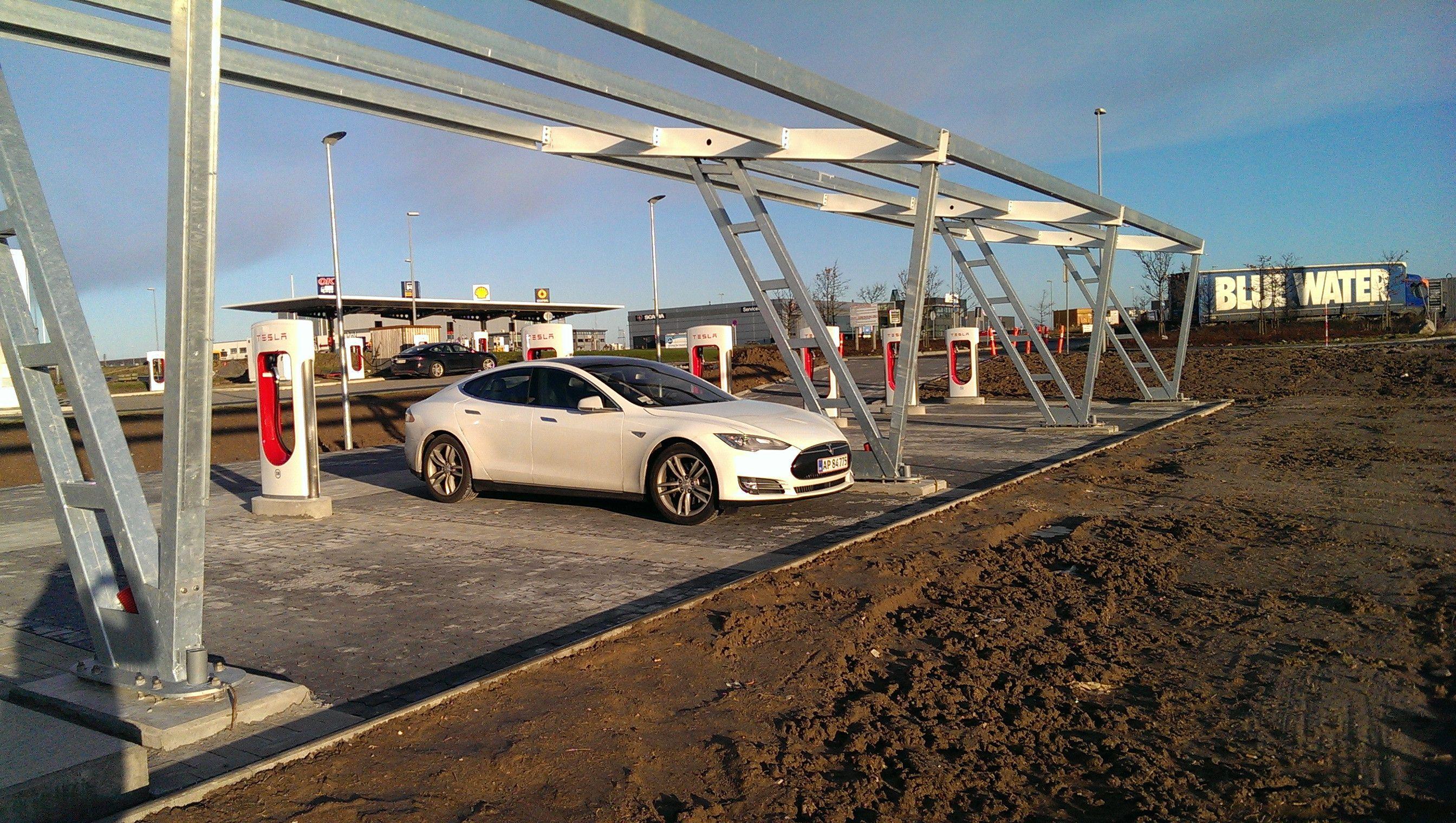 Tesla Supercharger - Køge - Denmark   Tesla Superchargers