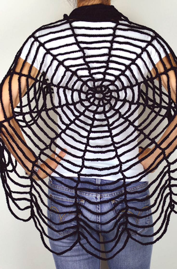 Crochet pattern spider web shawl spiders pinterest spider crochet pattern spider web shawl bankloansurffo Images