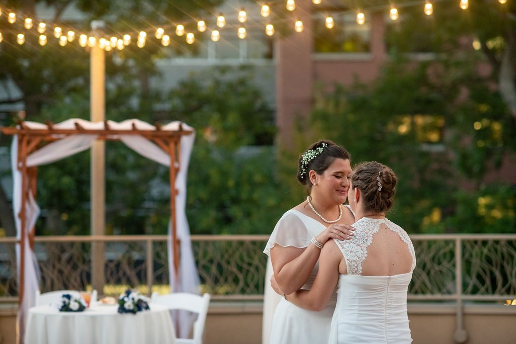 Our Rooftop Deck Is A Great Place To Have A Summer Wedding