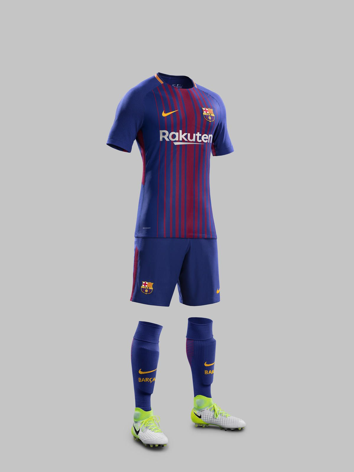 Nike News - FC Barcelona Home Kit 2017-18 c58fb001694
