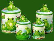 Frog canister set